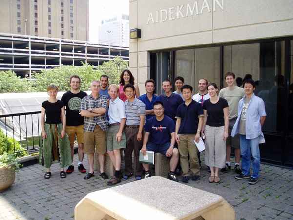 Lab members, 2005