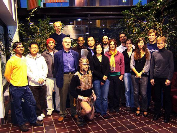 Lab members, 2008