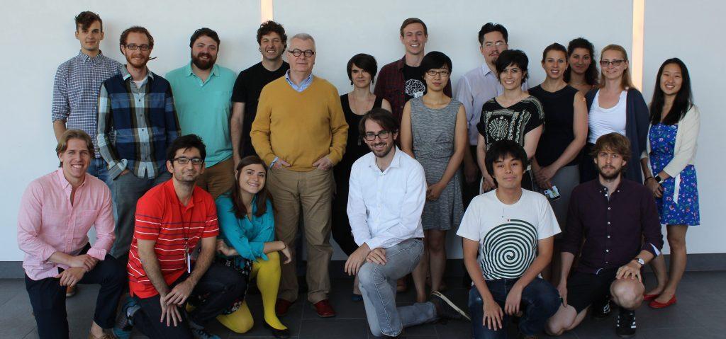 Lab members, 2016