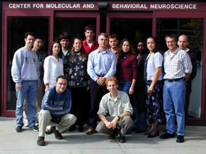 Lab members, 2002