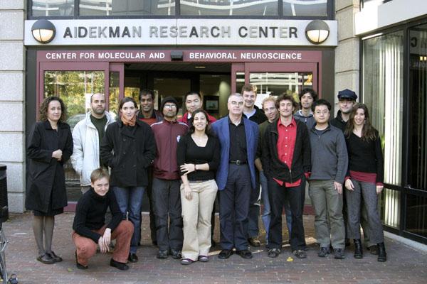 Lab members, 2006