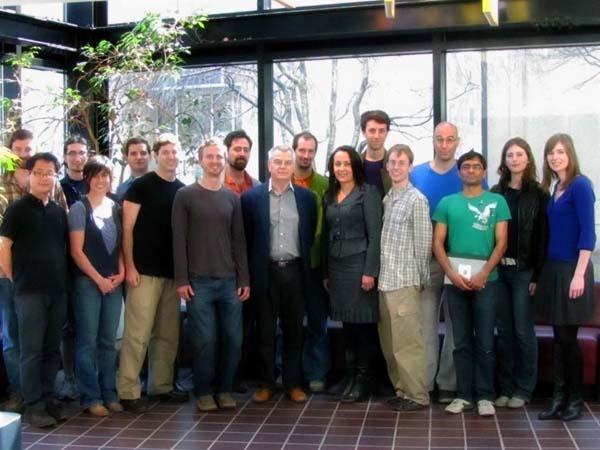 Lab members, 2012