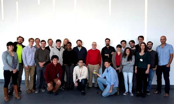 Lab members, 2014