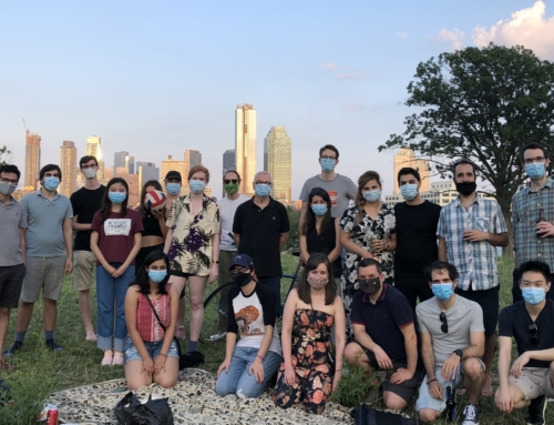 Lab social on roosevelt island