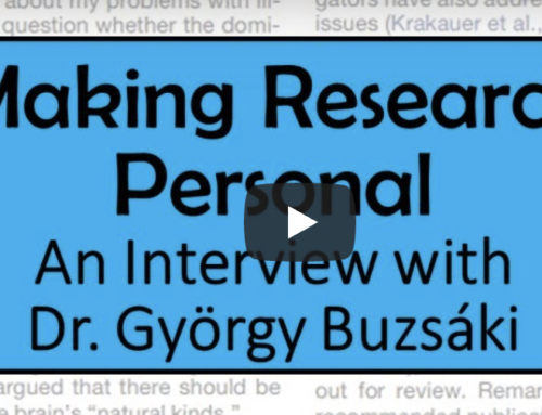 Making research personal: Interview with György Buzsáki